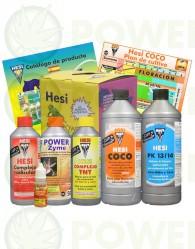 Kit de Cultivo Hesi Coco Abono para Cultivo Marihuana en Sustrato de Coco