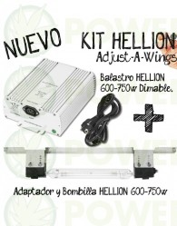Kit Hellion Regulable Potencia 600W 750W DE