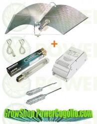 Kit 400w Sylvania+Reflector Adjust+Difusor Calor