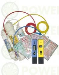 Kit Iniciación Hidroponía (Filtro Osmosis + phmetro + conductimetro)
