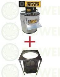Peladora Trimpro Rotor + Mesa