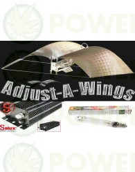 Kit 600w Solux Digital Adjust-A-Wings Medium