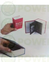 Caja Libro Plástico M para la ocultación