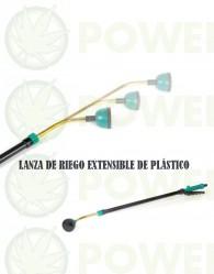 LANZA DE RIEGO EXTENSIBLE DE PLÁSTICO