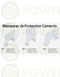 Mampara de Protección Transparente 100x70cm