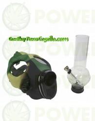 Bong Máscara de Gas Camuflaje