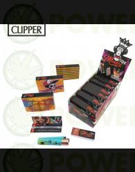 MONKEY KING KIT PAPEL 1/4 + CLIPPER + TIPS 8 x CAJA