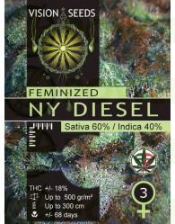 NY Diesel Vision Seeds Semilla Feminizada