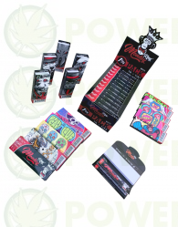 PACK MONKEY KING PAPEL 1/4 + BOQUILLAS (24 x CAJA)