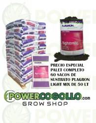 Palet Sustrato Plagron Light Mix 50 Lt (60 sacos)
