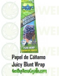 PAPEL DE CAÑAMO HEMP WRAPS JUICY BLUNT ARÁNDANOS