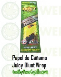 PAPEL DE CAÑAMO HEMP WRAPS JUICY BLUNT MANGO PAPAYA