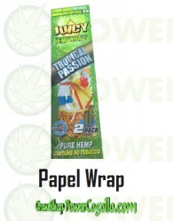 PAPEL DE CAÑAMO HEMP WRAPS JUICY BLUNT TROPICAL