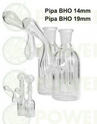 Pipa agua BHO Bubbler Borosilicato 19 mm