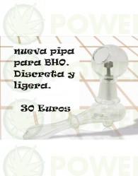 Pipa Cristal BHO Tornillo Titanio