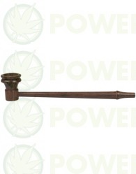 Pipa de Madera de palo de rosa Larga-Delgada de 17.7 cm
