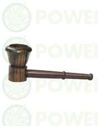 Pipa de Madera de Palo de Rosa pequeña 9 cm