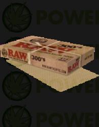 Papel Raw 1 1/4 300' s