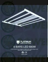 SISTEMA PLATINUM XX LED 680W (PLATINUM HORTICULTURE)