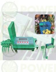 Sistema de irrigación automático para 10 plantas