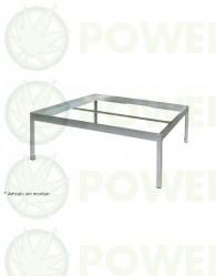 Soporte para mesa de cultivo ECO 1,20 x1,20 m