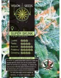Super Skunk Vision Seeds Semilla Feminizada Marihuana