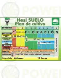 Kit de Cultivo Hesi Tierra Abono Cultivo de Cannabis