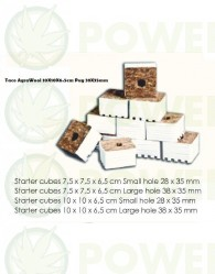 Taco AgraWool 10X10X6.5cm Plug 38X35mm