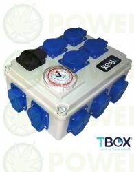 Temporizador 12x600W + Calefacción TEMPO BOX