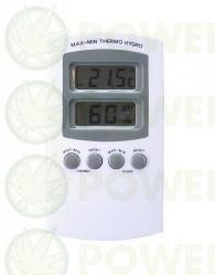 Termómetro Higrómetro Digital Máximas y Mínimas