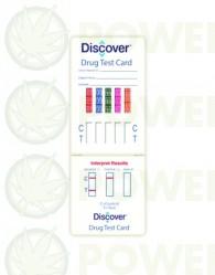 Tarjeta Test de drogas orina (Discover)