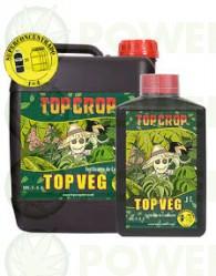 Top Veg 5 Lt de Top Crop Abono para el Crecimieto del Cannabis 100% Natural