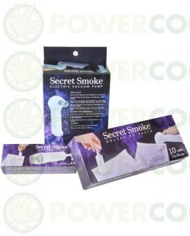 Bomba de Vacio Eléctrica Secret Smoke(pilas no incluidas)