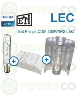 Kit Iluminación Philips CDM-T 360W LEC+Cooltube 125