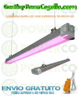 LUMINARIA BARRA LED 100W SUPERNOVA TRI-PROOF LED