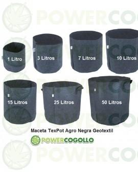 Maceta TexPot Agro Negra