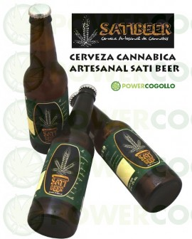SatiBeer Cerveza Artesana de Cannabis