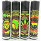Mechero Clipper Rasta Stencils