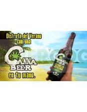 CannaBeer Cerveza Artesana Cannabica Hecha con semillas de Cáñamo