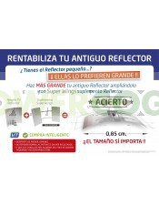 ampliacion reflector superwings, alas gaviota, adjust-a-wing barato