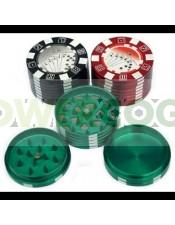 Grinder Tamiz Ficha Poker