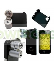 Mini Microscopio Led 45x para IPHONE