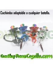 Arguila-Shisha Adaptable Botella 1 Salida