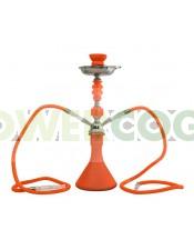 Arguila-Cachimba SHABI SHISHA Fluor 48 cm 2 SALIDAS-naranja