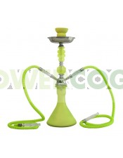 Arguila-Cachimba SHABI SHISHA Fluor 48 cm 2 SALIDAS-verde