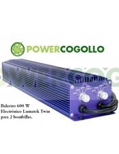 Balastro 600 W Electrónico Lumatek Twin