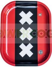 Bandeja Metálica modelo XXX Amsterdam para liar