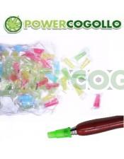 Boquillas Desechables Shisha Plastico Colores