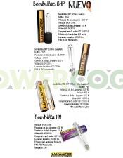 Bombilla Lumatek SHP 600W (Mixta)