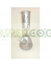 BONG CRISTAL PERCOLATOR 20CM-gris-plata